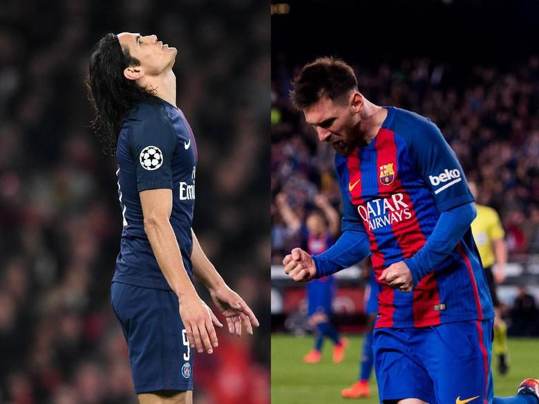 Cavani Saingan Messi Musim Ini, BukanRonaldo